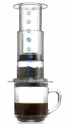 mokkakapot gaat ook traag voor koffie