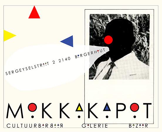 Mokkakapot gekozen naamkaart