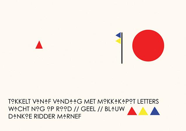 Mokkakapot letters